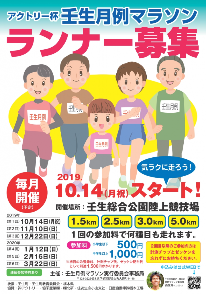 壬生月例マラソン